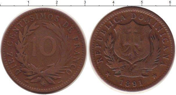 Каталог монет - Доминиканская республика 10 сентим