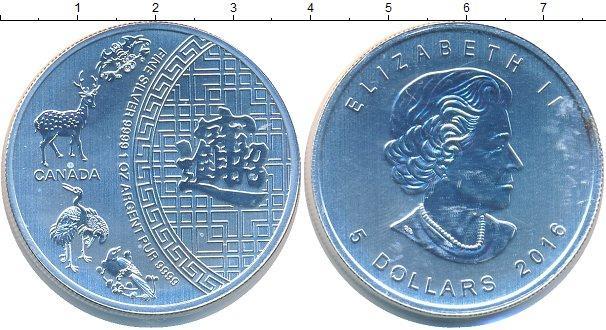Каталог монет - Канада 5 долларов