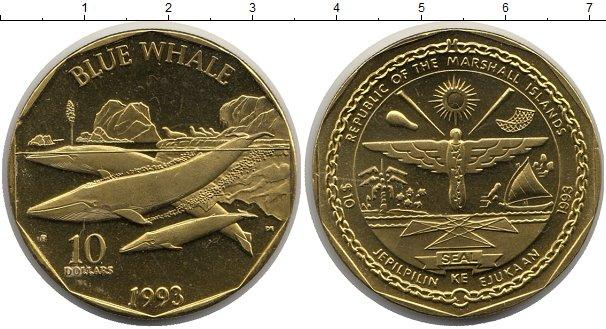 Каталог монет - Маршалловы острова 10 долларов