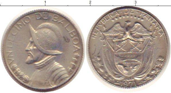 Каталог монет - Панама 1/10 бальбоа