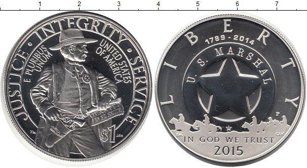 Каталог монет - США 1 доллар