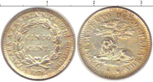 Каталог монет - Боливия 5 сентаво