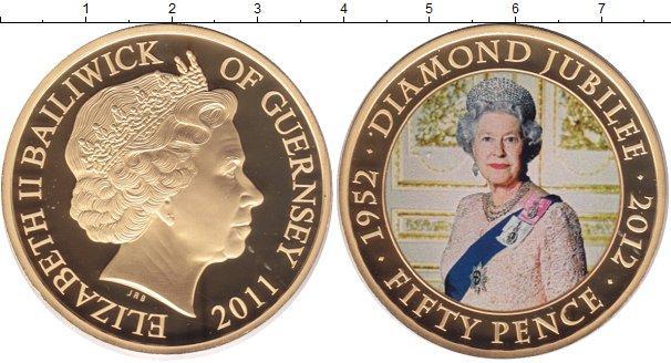 Каталог монет - Гернси 50 пенсов