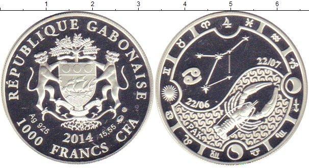 Каталог монет - Габон 1000 франков