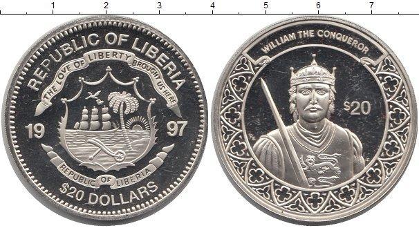 Каталог монет - Либерия 20 долларов