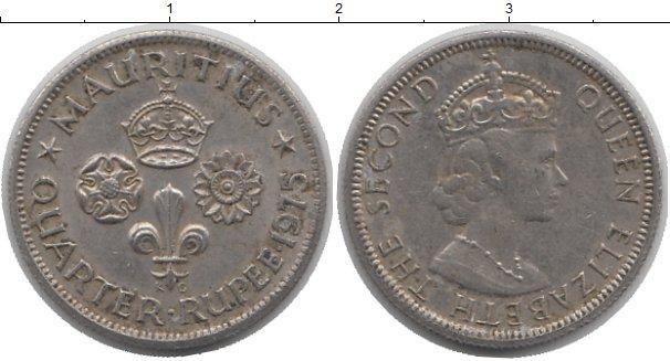 Каталог монет - Мавритания 1/4 рупии