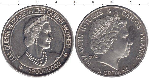 Каталог монет - Теркc и Кайкос 5 крон