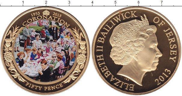 Каталог монет - Остров Джерси 50 пенсов