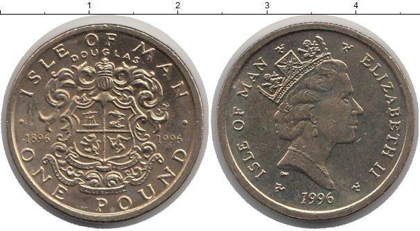 Каталог монет - Остров Мэн 1 фунт