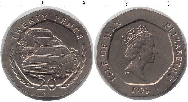 Каталог монет - Остров Мэн 20 пенсов