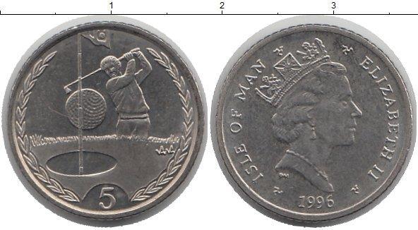 Каталог монет - Остров Мэн 5 пенсов
