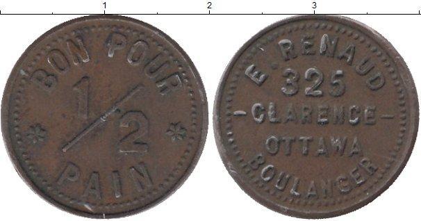 Каталог монет - Канада 1/2 цента