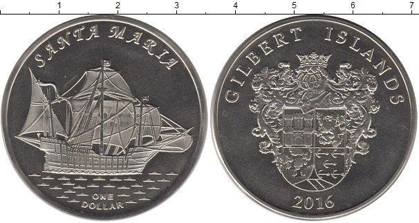 Каталог монет - Кирибати 1 доллар