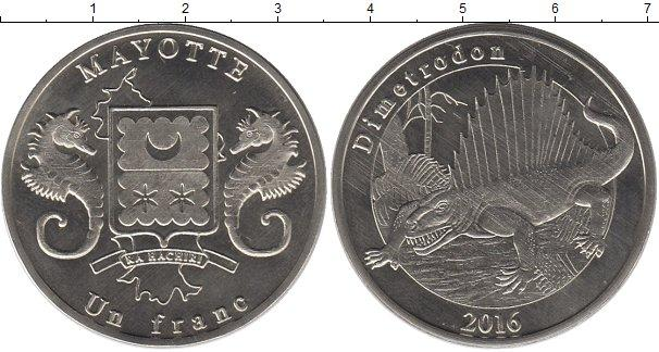 Каталог монет - Майотта 1 франк