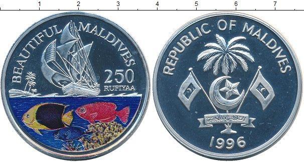 Каталог монет - Мальдивы 250 руфий