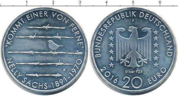 Каталог монет - ФРГ 20 евро