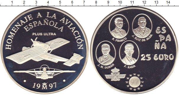 Каталог монет - Испания 25 евро
