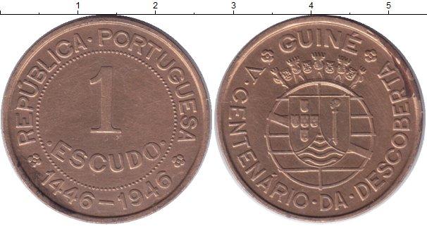 Каталог монет - Гвинея-Бисау 1 эскудо