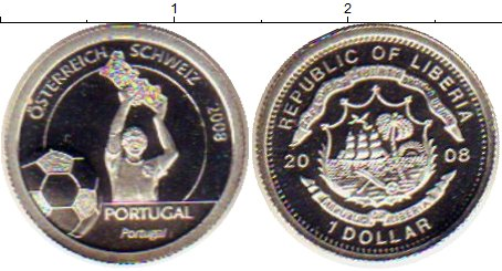 Каталог монет - Либерия 1 доллар