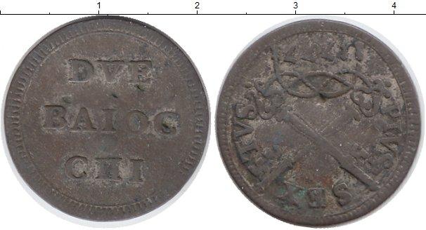 Каталог монет - Ватикан 2 байоччи