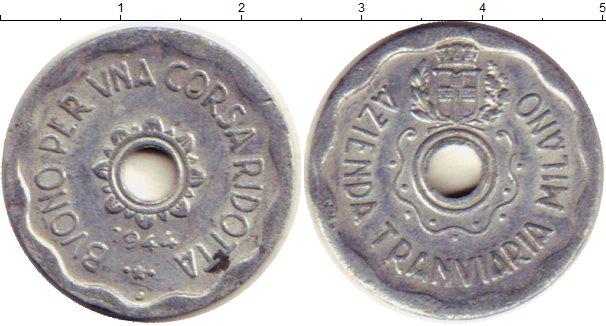 Каталог монет - Италия жетон