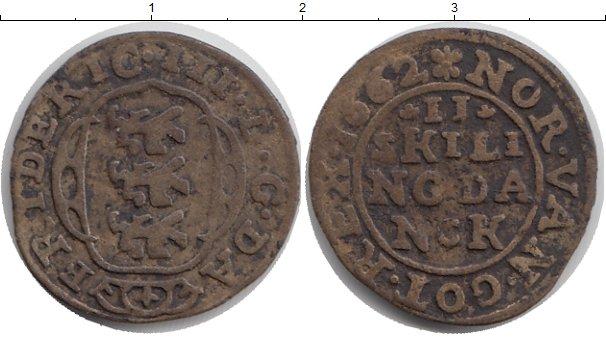 Каталог монет - Норвегия 2 скиллинга