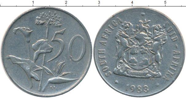 Каталог монет - ЮАР 50 центов