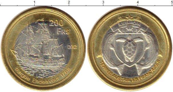 Каталог монет - Антарктика - Французские территории 200 франков