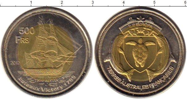Каталог монет - Антарктика - Французские территории 500 франков