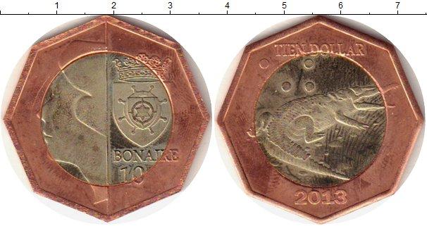 Каталог монет - Бонайре 10 долларов