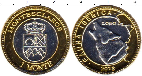 Каталог монет - Бразилия 1 монте