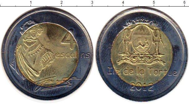 Каталог монет - Гаити 4 эскалин