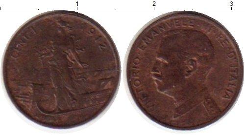 Каталог монет - Италия 1 сентесим