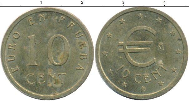 Каталог монет - Испания 10 евроцентов