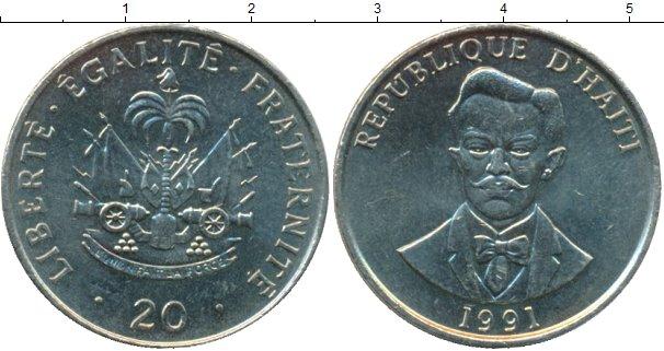 Каталог монет - Гаити 20 гурдес