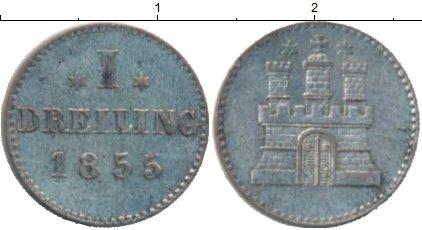 Каталог монет - Гамбург 1 пфенниг