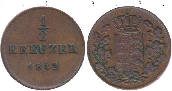 Каталог монет - Пруссия 1/2 крейцера