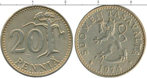 Каталог монет - Финляндия 20 пенни