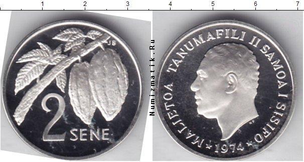 Каталог монет - Самоа 2 Сене