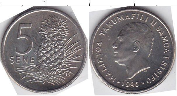 Каталог монет - Самоа 5 Сене