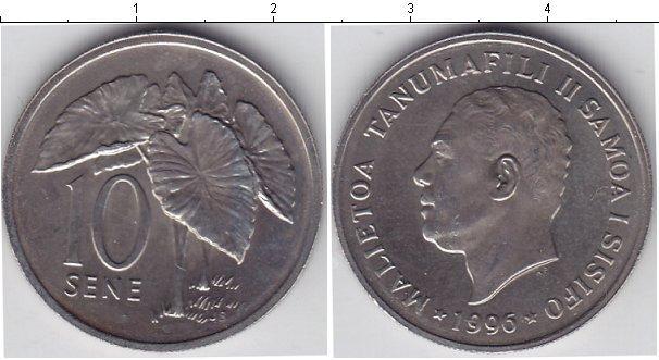 Каталог монет - Самоа 10 сене