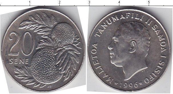 Каталог монет - Самоа 20 Сене