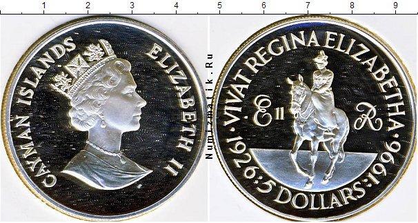 Каталог монет - Каймановы острова 5 долларов