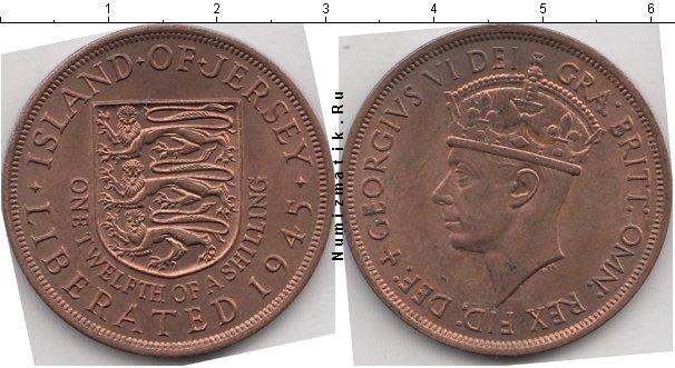 Каталог монет - Остров Джерси 1/12 шиллинга