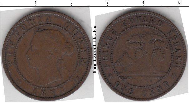 Каталог монет - Остров Принца Эдварда 1 цент