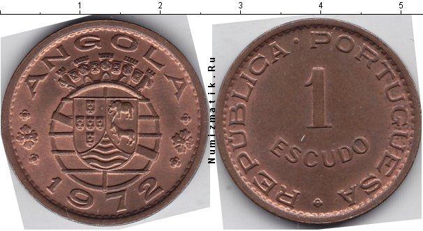 Каталог монет - Ангола 1 эскудо