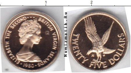 Каталог монет - Виргинские острова 25 долларов