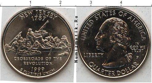 Каталог монет - США 1/4 доллара