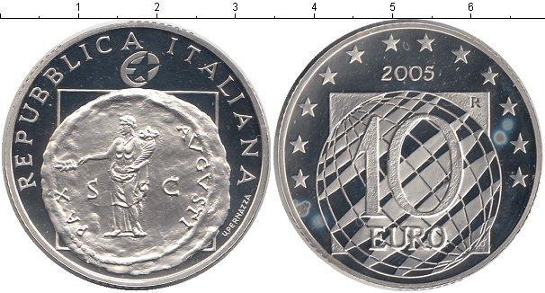 Каталог монет - Италия 10 евро