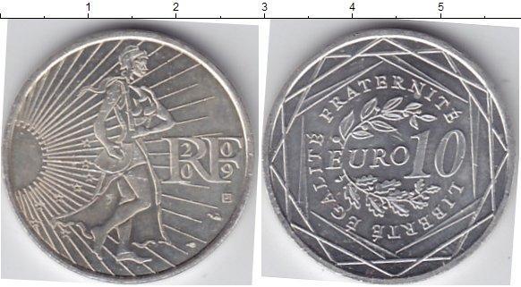 Каталог монет - Франция 10 евро
